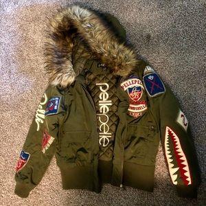 American bombshell pelle pelle jacket